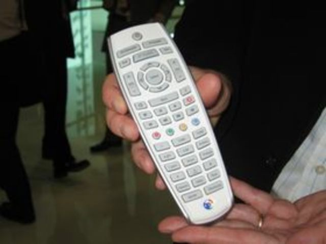 The First TV remote