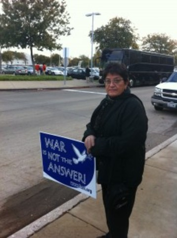 Bush Blog: Protesters Start to File in