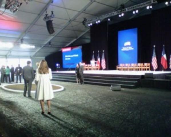 George W. Bush Library Groundbreaking Ceremony