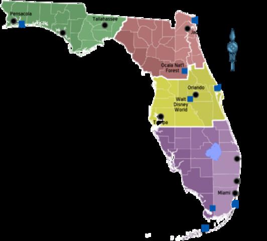 Los Estados Unidos compró Florida