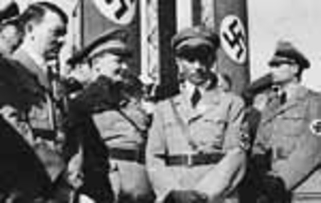 1940 Nazis invade Denmark, Norway, the Netherlands, Luxembourg and Belgium – take control
