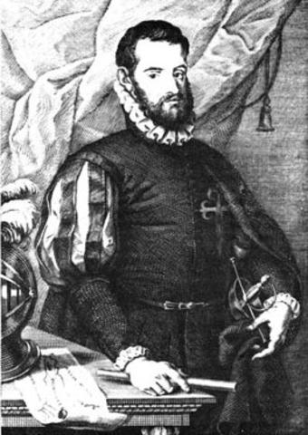 Pedro Menendez de Aviles lands in St. Augustine, Florida.