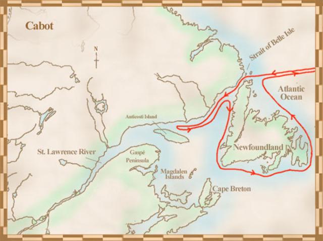 John Cabot Explores Up North
