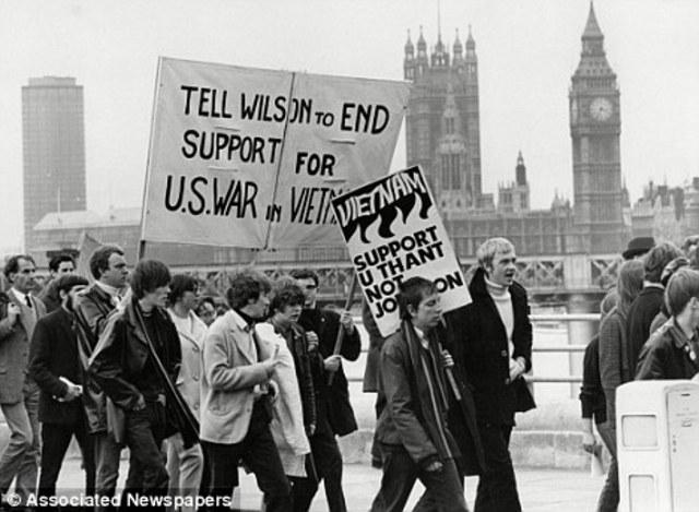 Uproar against the Vietnam War