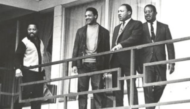 MLK Assasssinated