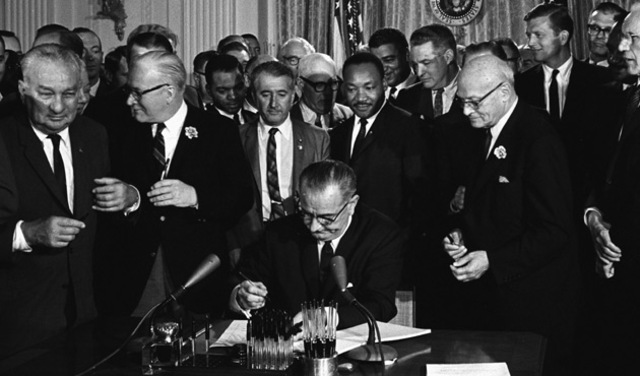 Civil Rights Act of 1964 Passed