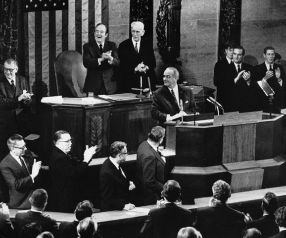 Johnson's Sate of the Union Address