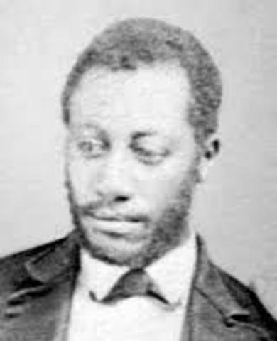 Frederick Douglass' son Lewis Henry is born.