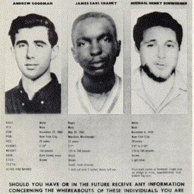 KKK Murders 3 Civil Rights Workers timeline