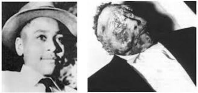Emmet Till's Murder's acquitted by all white jury in Mississippi
