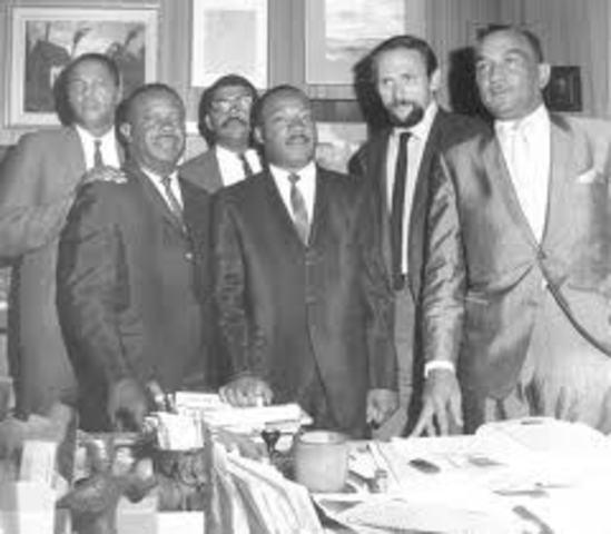 SCLC established to organize civil rights movement