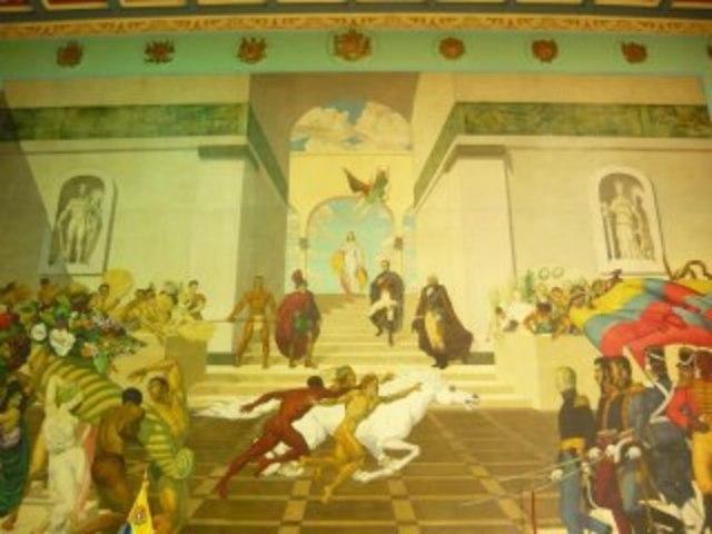 La asamblea Notable otorga a Símon Bolivar la dictadura
