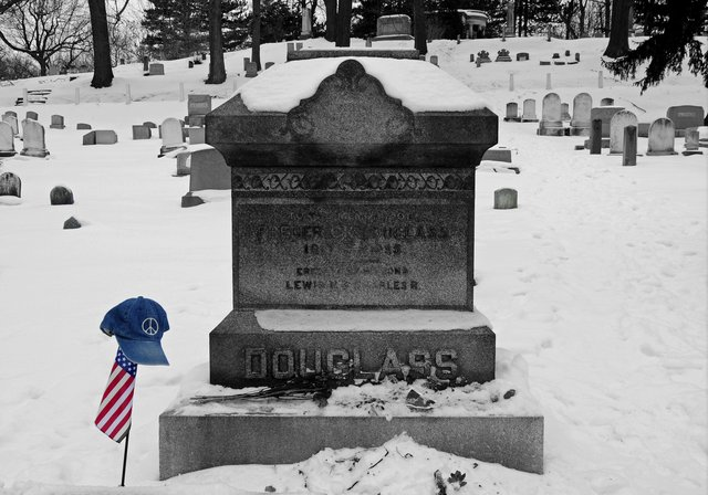 Frederick Douglas passes away.