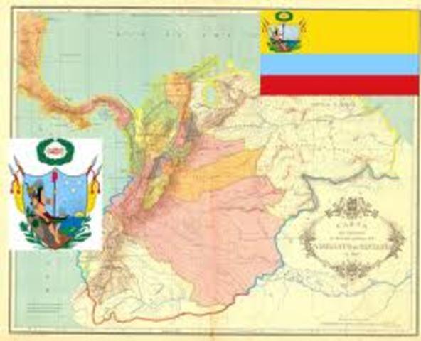 Estados Unidos reconoce la independencia de la Gran Colombia