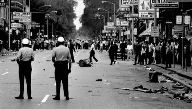 Race Riots, Newark and Detroit