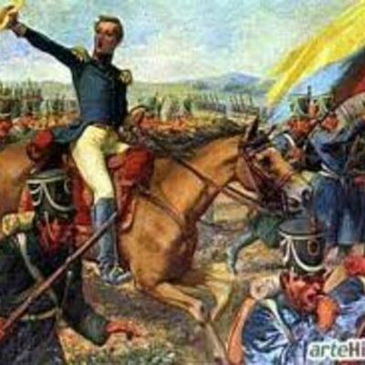 Gran Colombia y Nueva Granada 1760-1830 timeline