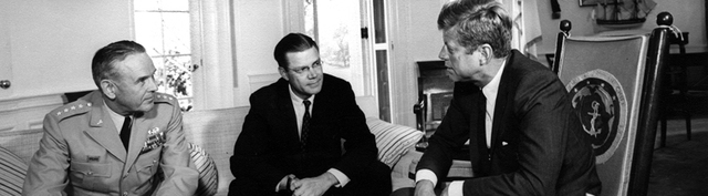 Kennedy sends alleged military advisors to South Vietnam.