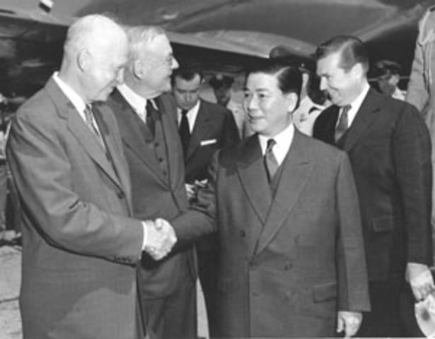 The Anti-Diem coup in  South Vietnam.