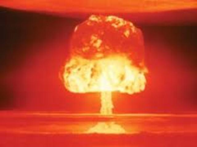 Nuclear Reaction.