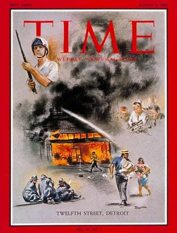 Race riots in the US begins