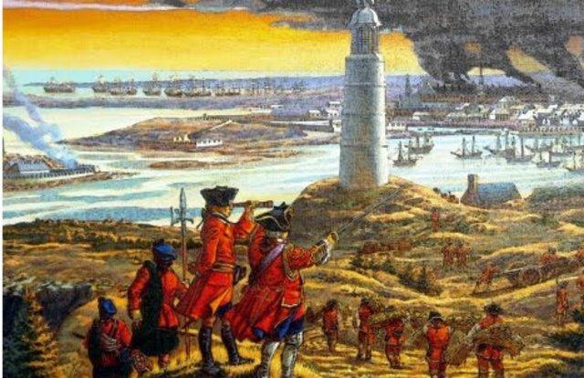 Le siège de Louisbourg continue