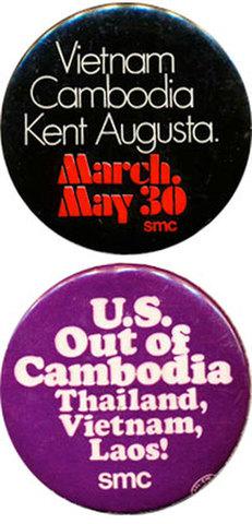 Nixon orders invasion of Cambodia.