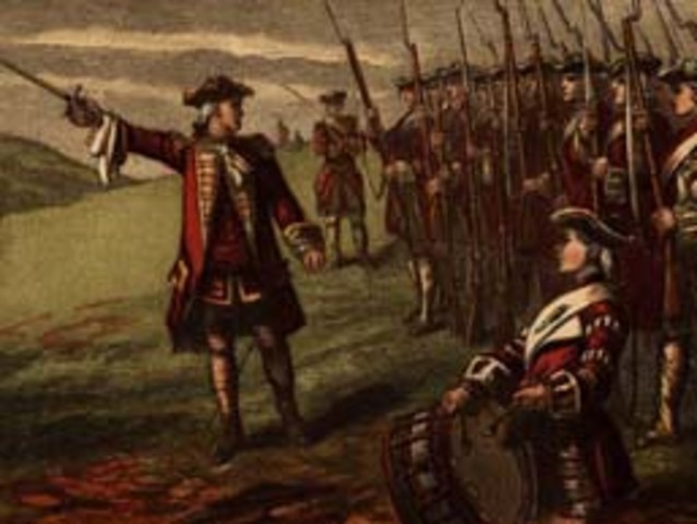 Bataille des Plaines d'Abraham ; Québec tombe aux mains des Anglais.