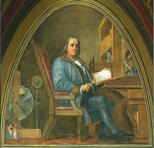 Benjamin Franklin was born in Boston on January 17, 1706.