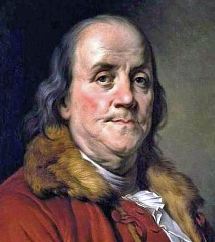 Benjamin Franklin was one of the founding Fathers of the United States.