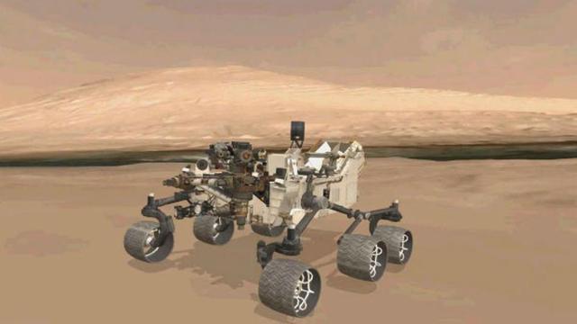 Curiosity Lands on Mars