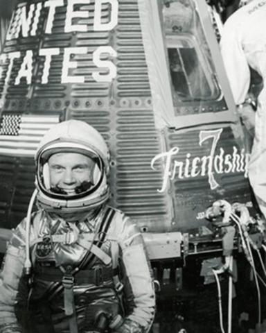 America's First Man Orbit