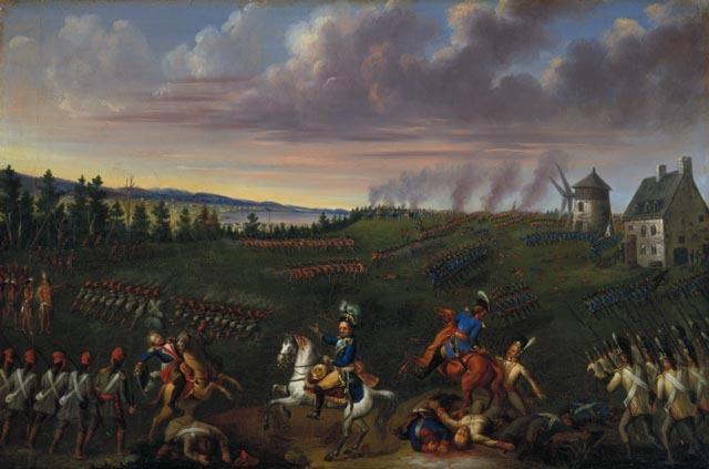 Bataille de Sainte Foy- les troupes françaises essayent de reprendre Québec- échec