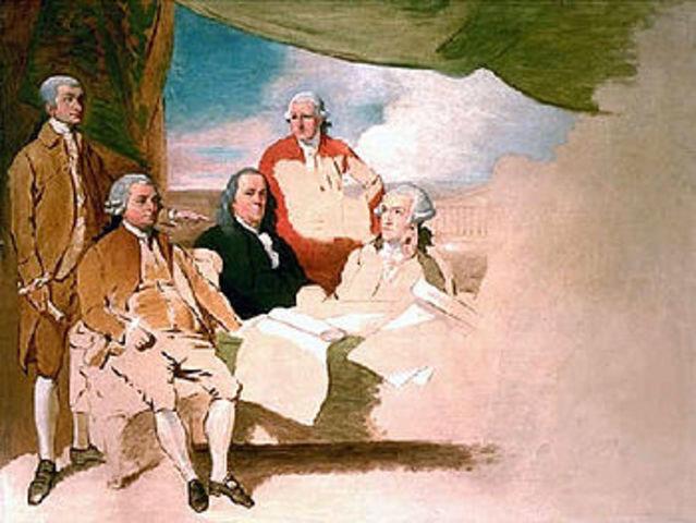 Signature du Traité de Paris qui met fin à la guerre de Sept Ans