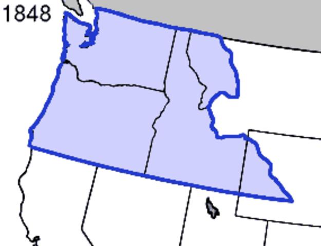 Oregon territory