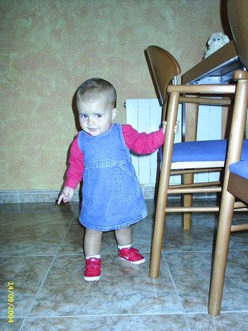 Primers pasos de la Sara
