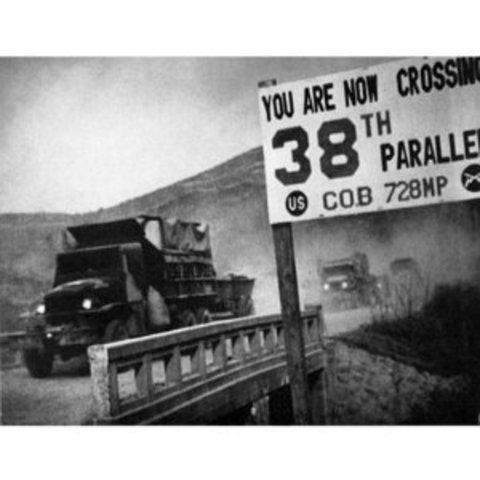 38th Parellel is established
