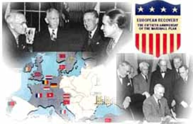 Marshall Plan Announced