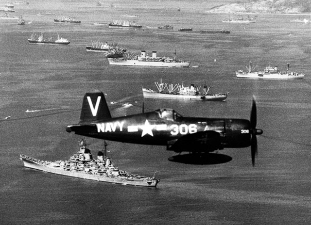 Truman sends US Naval and Air support to South Korea