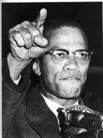 Malcom X and Harlem demonstration