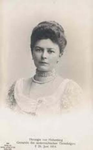 Sophie, Duchess of Hohenberg