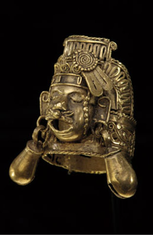Finger Ring Depicting Xipe Totec, National Museum of the American Indian, Smithsonian Institution, Washington, D.C