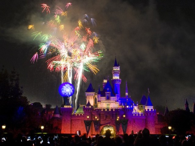 Yp viajé a Disney Land