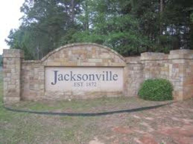 Yo mudé a Jacksonville,Tx
