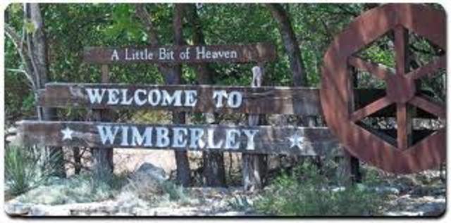 Yo mudé a Wimberly,Tx