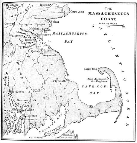 Puritans Establish Mass. Bay Colony