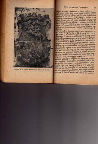 Escudo de Armas de Santiago de los Caballeros de Guatemala