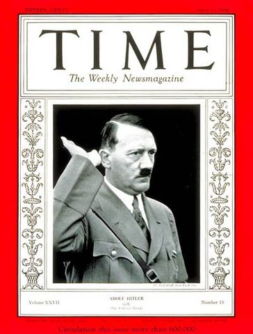 """He is named the """"Man of the Year"""" by the Time magazine"""