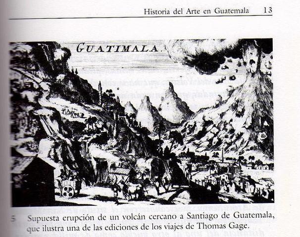 Destrucción de Ciudad Vieja en el Valle de Almolonga