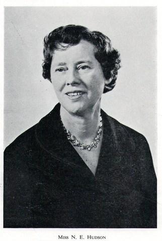 Miss Hudson Head Teacher 1946-68