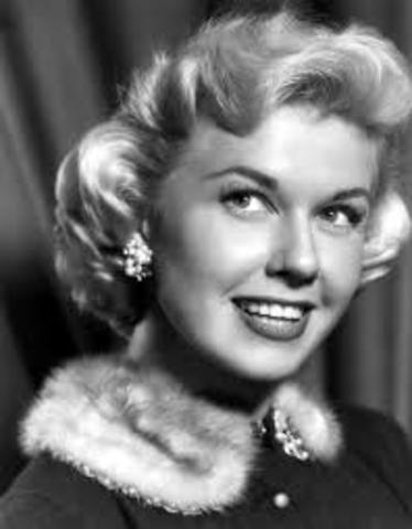 Popular singer was Doris Day